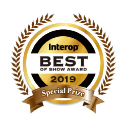 Interop BEST OF SHOW AWARD 2019 審査員特別賞