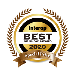 Interop BEST OF SHOW AWARD 2020 審査員特別賞